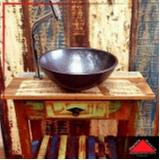 aparador de madeira maciça