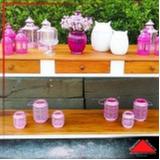 aparador de madeira rústica