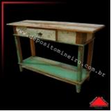 aparador de madeira com gaveta Guararema