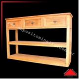 aparador de madeira rústica Barra Funda