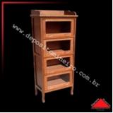 armário para cozinha de madeira de demolição
