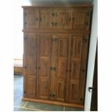 armário de madeira para quarto Moema