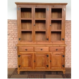 armário de parede de madeira preços São Bernardo do Campo