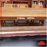 banco baú madeira Alphaville