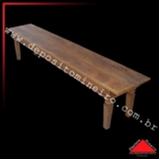 banco baú madeira