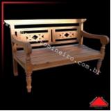 banco madeira rústico