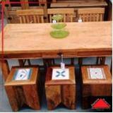 banco madeira varanda