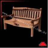 banco madeira rústico valor Chácara do Piqueri