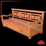 comprar banco madeira rústico Sacomã