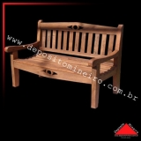 comprar banco para jardim de madeira Lauzane Paulista