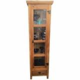 cristaleira de madeira à venda Jardim Paulistano