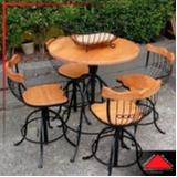 empresa de mesa de madeira maciça rústica Santa Isabel