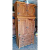 fornecedor de guarda roupa solteiro madeira rústica Tucuruvi