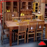 mesa de madeira maciça rústica preço Jardim Paulista
