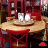 mesa de jantar madeira rústica