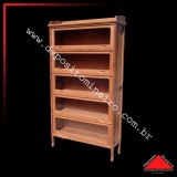 onde compro estante de madeira para livros Suzano