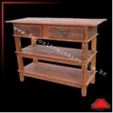 onde encontrar aparador rústico madeira Campo Grande