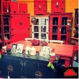 onde encontro mesa de madeira rústica com bancos Pedreira