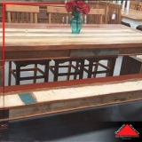 onde encontro mesa rústica de madeira maciça Jardim Iguatemi