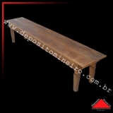 onde faz banco madeira rústico Santo Amaro