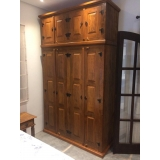 preço de armário de quarto em madeira maciça Ibirapuera