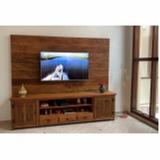 rack de madeira para sala orçar Sacomã