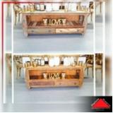 rack em madeira