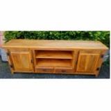 rack rústico de madeira