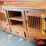 rack de madeira rústica Vila Mazzei