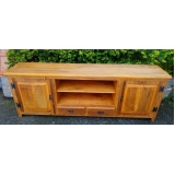 valor de rack de madeira para sala Vila Pompeia