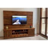 valor de rack rústico de madeira Higienópolis